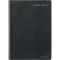 Wega Office pöytäkalenteri 2021 A5 tummanharmaa