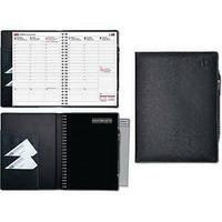 Viikkomuistio Plus pöytäkalenteri A5 musta