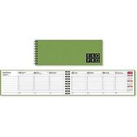 EkoPro pöytäkalenteri 2021 255 x 95 mm vihreä