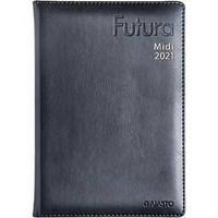 Futura Midi pöytäkalenteri 2021 A5 musta