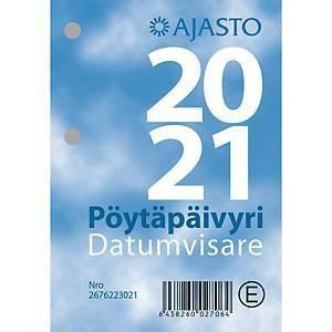 Pöytäpäivyri/Datumvisare lehtiökalenteri 2021 83 x 119 mm