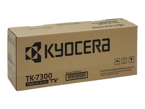 Laservärikasetti Kyocera TK-7300 musta 15000sivua
