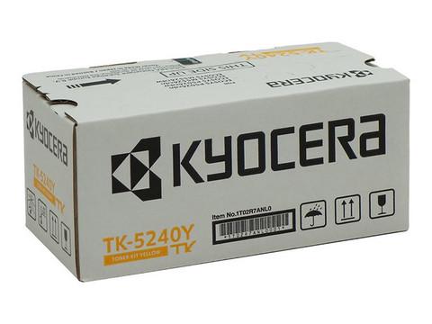 Laservärikasetti Kyocera TK-5240Y keltainen 3000sivua