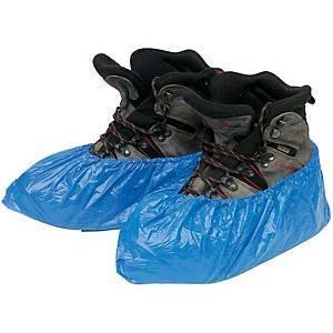 Kertakäyttöinen kengänsuoja sininen, 1 kpl=100 suojaa