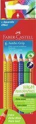 Värikynä Kids Jumbo Grip, 6 kpl/sarja