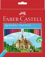 Värikynä Castle, 6-kulmainen, 24 kpl/sarja