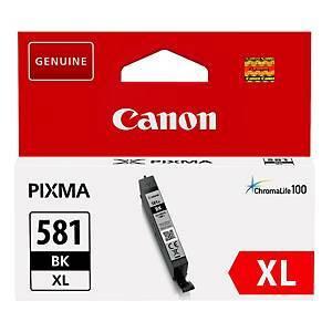 Canon CLI-581BKXL mustesuihkupatruuna, musta