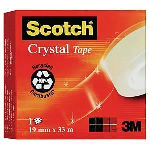 Yleisteippi Scotch 600 19mm x 33m kirkas