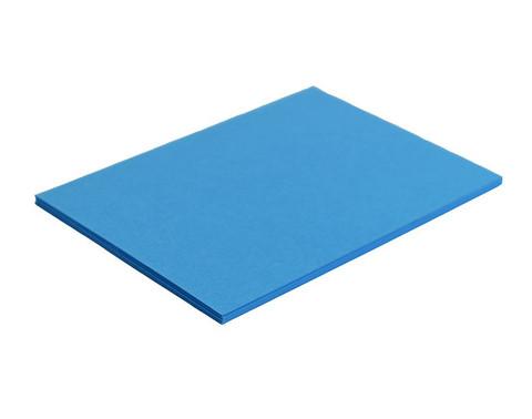 Mainoskartonki 50 x 70cm 270g sininen 20 kpl
