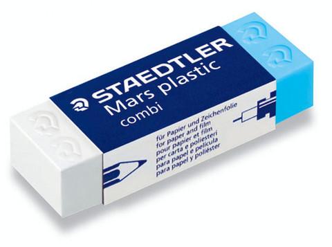 STAEDTLER MARS PLASTIC COMBI PYYHEKUMI 20kpl ltk