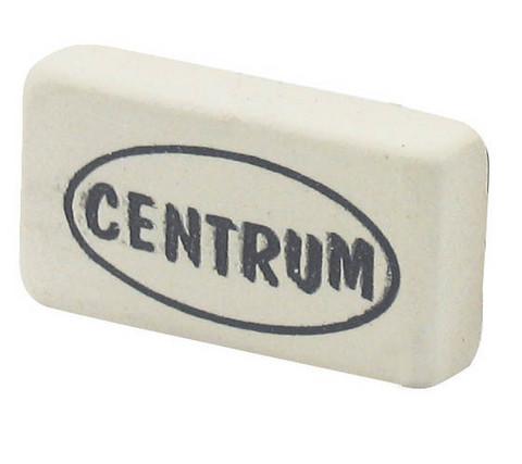 Valkoinen Centrum pyyhekumi 30X16X6mm 120kpl