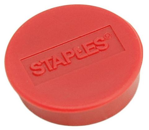 Magneetti 10mm punainen 10 kpl