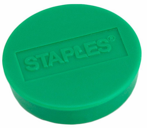 Magneetti 10mm vihreä 10 kpl