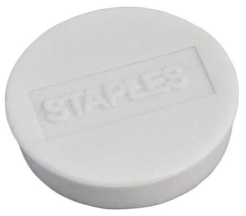 Magneetti 25mm valkoinen 10 kpl