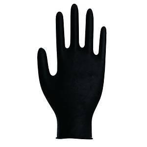 Musta nitriilikertakäyttökäsine XL, 1 kpl=100 käsinettä