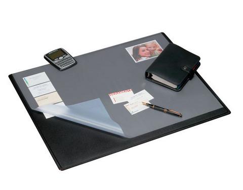 Kirjoitusalusta Staples läpällä 50x63cm musta