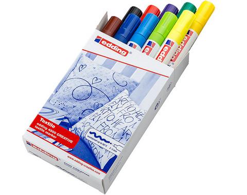 Tekstiilitussi 4500 Textile Marker 2-3mm 10 väriä