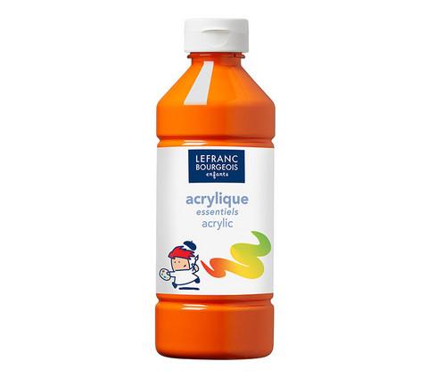 Akryyliväri oranssi 500ml