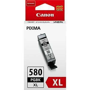 Canon PGI-580PGBKXL mustesuihkupatruuna musta