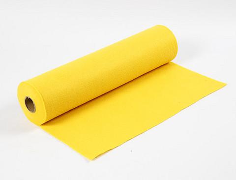 Paksu keltainen askarteluhuopa 45cmX5m