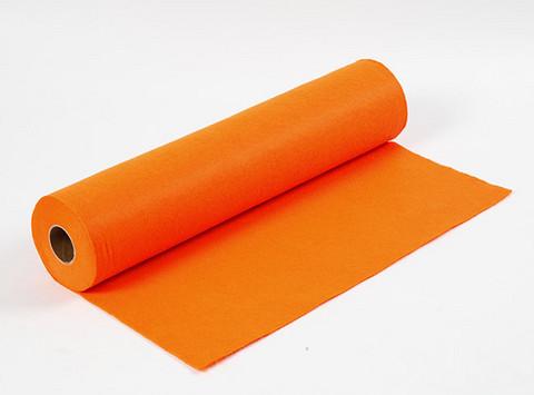 Paksu oranssi askarteluhuopa 45cmX5m