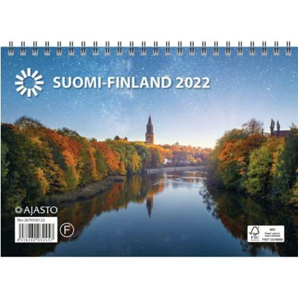 Suomi seinäkalenteri 2022 A5