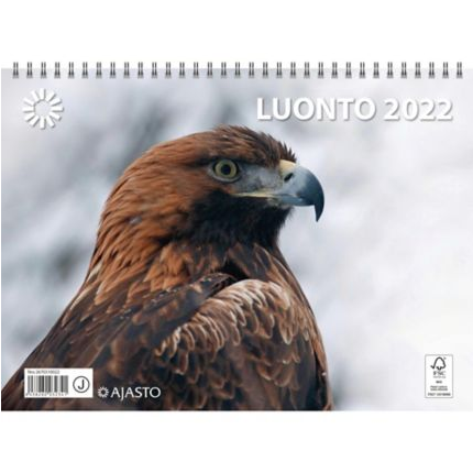 Luonto seinäkalenteri 2022 290 x 420 mm