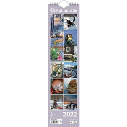 Kotimuistio/Hemkalendern 2022 110 x 432 mm
