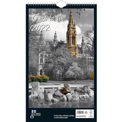 C`est La vie! seinäkalenteri 250x415