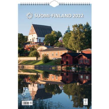 Suomi seinäkalenteri 2022 290 x 415 mm