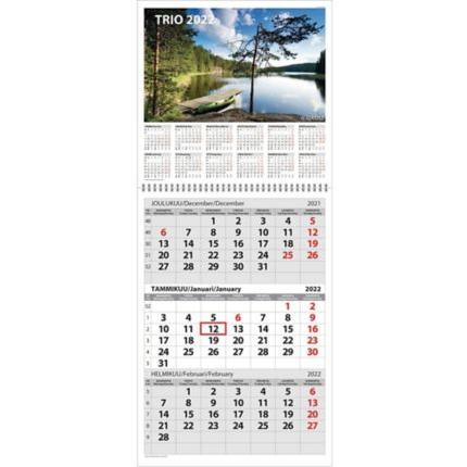 Trio seinäkalenteri 2022 290 x 415mm