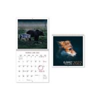 Eläimet seinäkalenteri 2022 300 x 600 mm