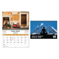 Maailman ympäri seinäkalenteri 2022 300 x 400 mm