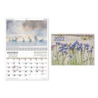 Kalenterimappi seinäkalenteri 2022 250 x 350 mm