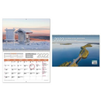 Suomalaisia maisemia seinäkalenteri 2022 300 x 400mm