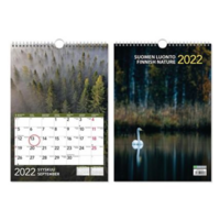 Suomen luonto seinäkalenteri 2022 232 x 325 mm