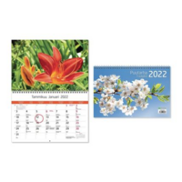 Puutarha seinäkalenteri 2022 300 x 400 mm