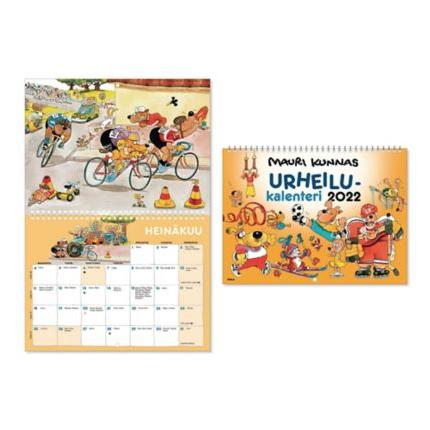 Mauri Kunnas seinäkalenteri 2022 285 x 420 mm