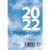 Pöytäpäivyri/Datumvisare lehtiökalenteri 2022 83 x 119 mm