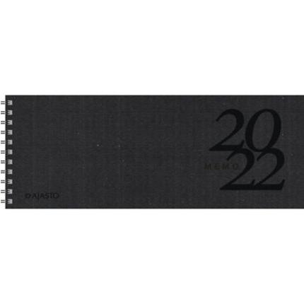Ajasto Memo Eko pöytäkalenteri 2022 255 x 95 mm