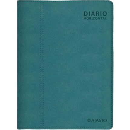Diario Horizontal pöytäkalenteri 2022 130 x 185mm petrooli