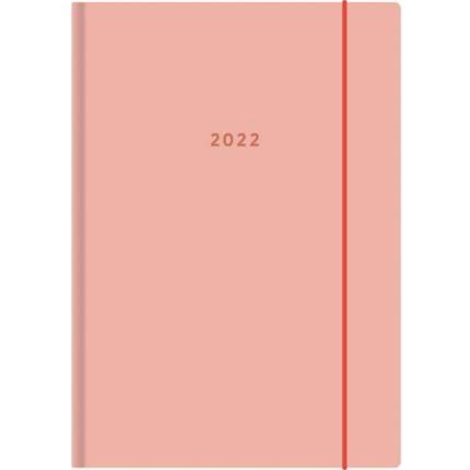Ajasto Color pöytäkalenteri 2022 A5 persikka