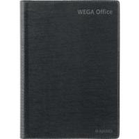 Wega Office pöytäkalenteri 2022 A5 tummanharmaa