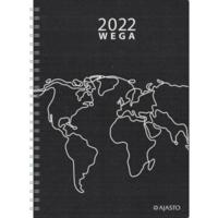 Wega Eko pöytäkalenteri 2022 A5 musta