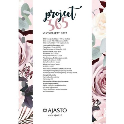 Project365 vuosipaketti 2022