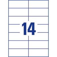 Monitoimitarra 105 x 42,3mm 14-osainen, 1 kpl=1400 tarraa