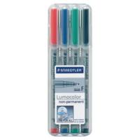 Staedtler Lumocolor 316 huopakynä 0,6 vesiliukoinen värilajitelma, 1 kpl=4 kynää