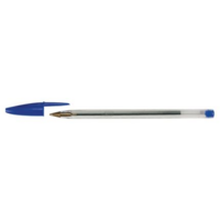Bic Cristal kuulakärkikynä korkilla 1,0 mm sininen 50kpl