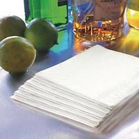 Lautasliina 24x24 cm valkoinen 300/paketti
