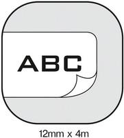 Dymo S0721520 Letratag tarranauha 12mm paperi valkoinen